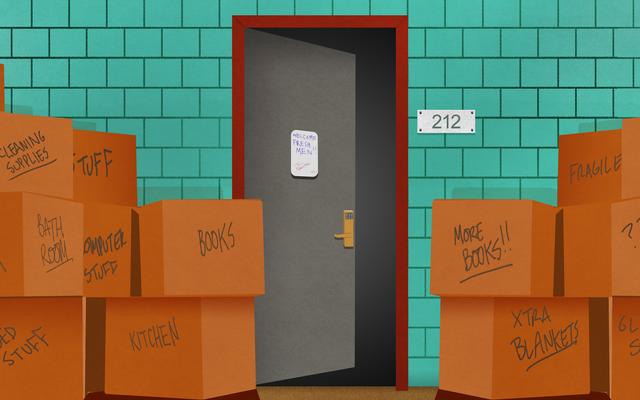 Как максимально эффективно использовать крошечное пространство вашей новой комнаты в общежитии