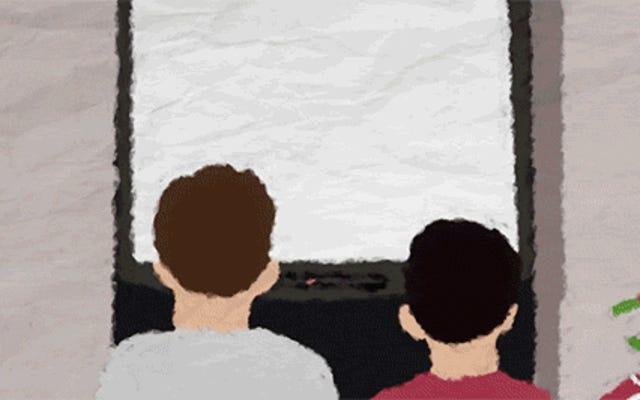 短編映画は、ビデオゲームでプレーヤー2として成長することがどのようなものかを示しています