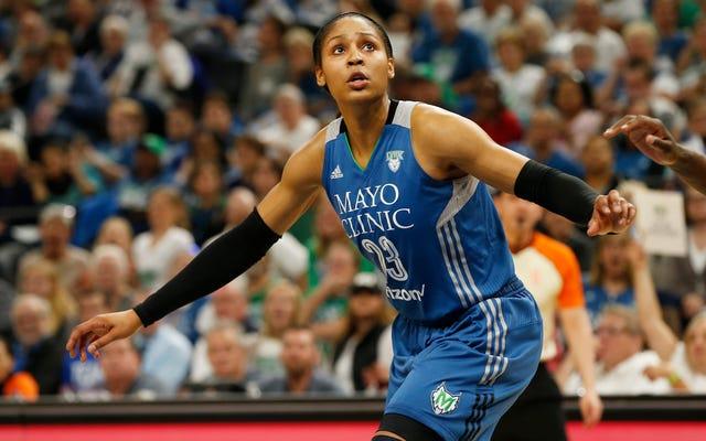 माया मूर ने घोषणा की कि वह बास्केटबॉल से एक ब्रेक लेगी