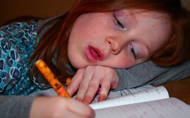 あなたの子供の宿題が難しすぎるときに何をすべきか