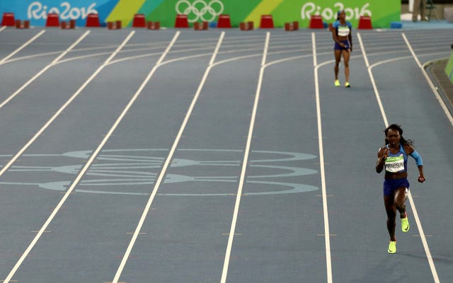 Tim Estafet 4x100m Putri AS Lolos ke Final Di Lintasan Kosong