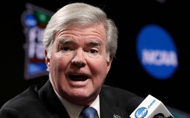 NCAA学長は、大学の運動選手がお金を稼ぐことを許可する州法案をめぐってカリフォルニアの学校を脅かす