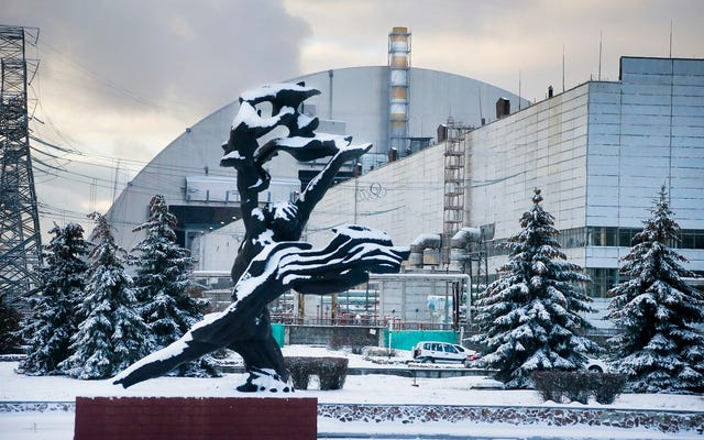 チェルノブイリ遺跡に設置された世界最大の放射線シールド