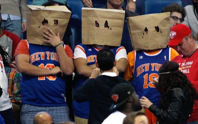 Times envía Knicks venció a reportero a cualquier lugar menos al Madison Square Garden
