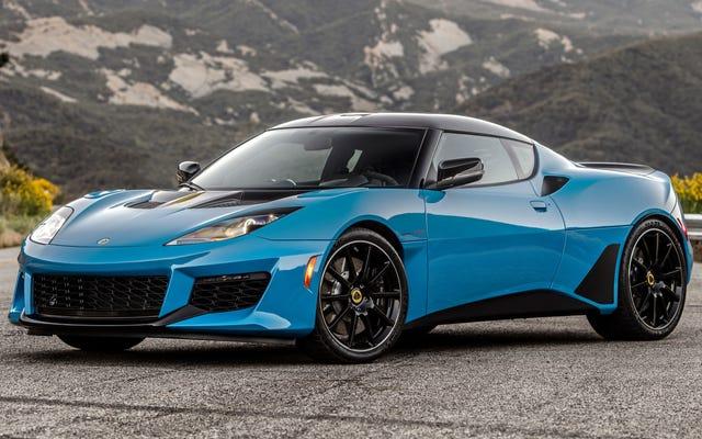 La Lotus Evora GT 2020 obtient son dossier de siège arrière et 6 CV supplémentaires