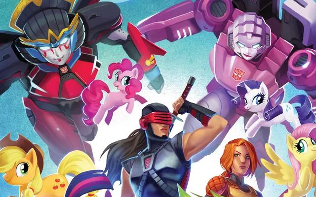 Komik Hasbro IDW Berikutnya Akan Merayakan Mainan yang Disukai Wanita dan Anak Perempuan