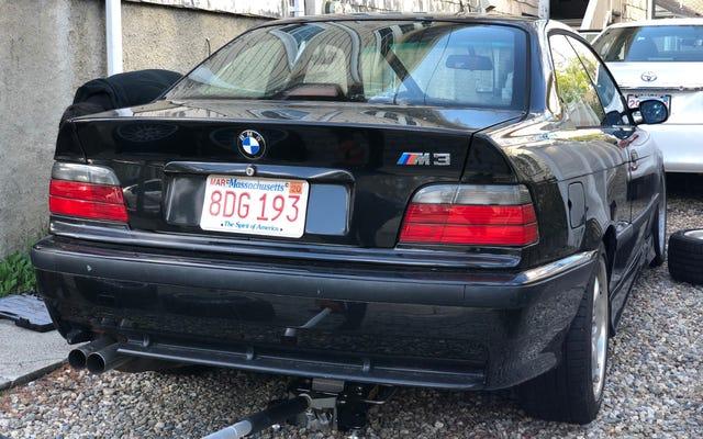 मैं इस बीएमडब्ल्यू E36 M3 खरीदने से एक दुःस्वप्न दुःस्वप्न बंद करो