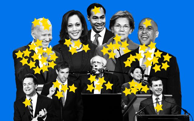 Oto dotychczasowy wybór każdego demokratycznego kongresmena na prezydenta