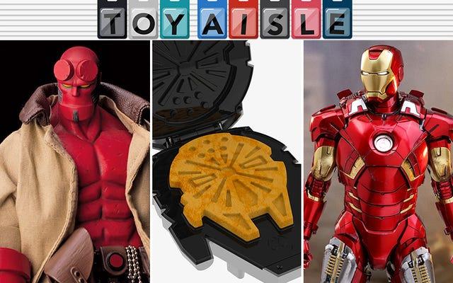 Hellboy, Waffle Makers, Overwatch Nerf Blasters, dan Lainnya dari Mainan Paling Koleksi Minggu Ini