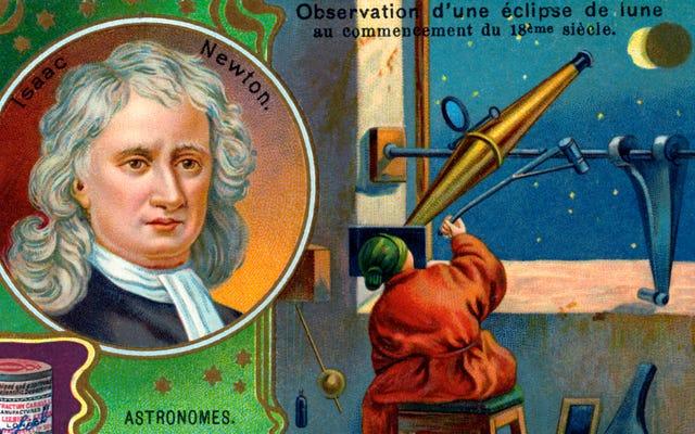 この科学者はニュートンの運動の法則を破ったと主張した