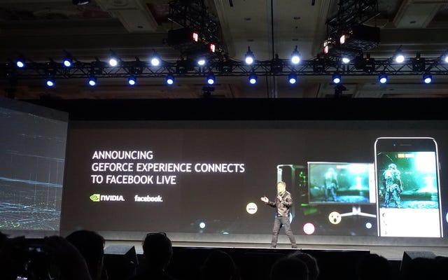 Nvidia, Facebook Live'a Daha İyi Oyun Yayınını Getiriyor