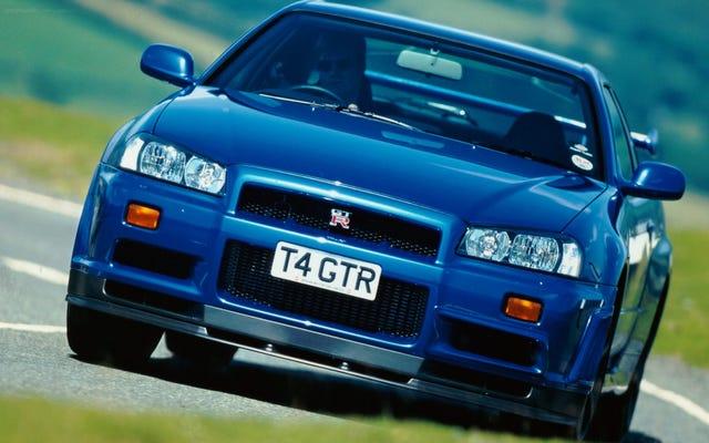 L'écran multifonction de la R34 GT-R était secrètement sa caractéristique la plus cool