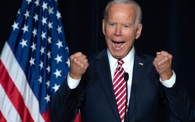 Joe Biden a rencontré des leaders des droits civiques, et je vais avoir besoin de lui pour surveiller son ton