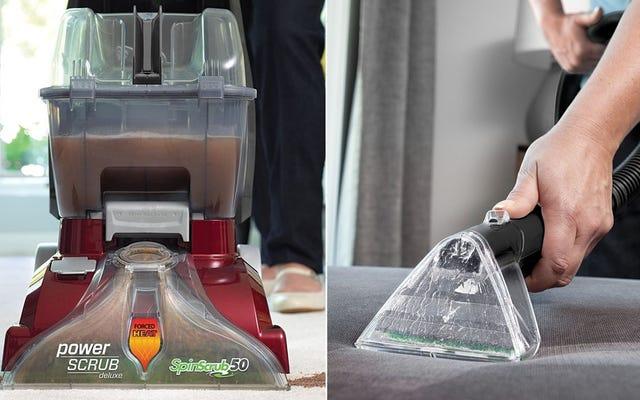 ทำความสะอาดพรม พรม และเฟอร์นิเจอร์ของคุณด้วย Hoover Power Scrub ลดราคา