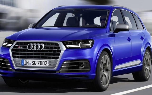 Le nouveau V8 d'Audi est un diesel avec 663 lb-pi de couple et zéro décalage turbo