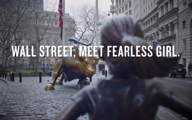 Więc teraz jest dziewczyna na Wall Street