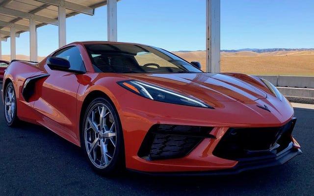 Đây là âm thanh của Chevrolet Corvette 2020 C8