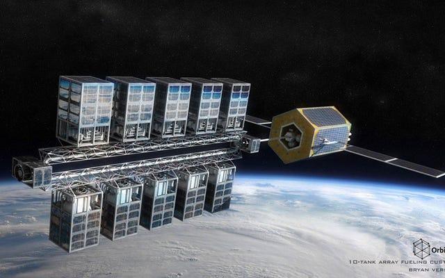 Una stazione di servizio nello spazio: una startup testerà un sistema per rifornire i satelliti in orbita
