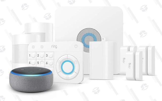 Les membres Prime peuvent économiser 60 $ sur le système de sécurité domestique de Ring, plus un point Echo gratuit