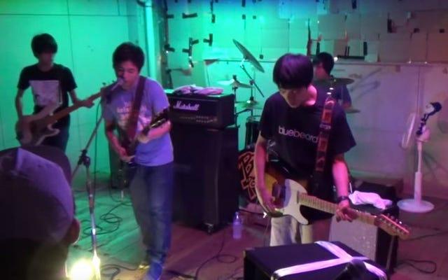 Tonton remaja Jepang meliput The Promise Ring, Stone Roses, Weezer, dan banyak lagi