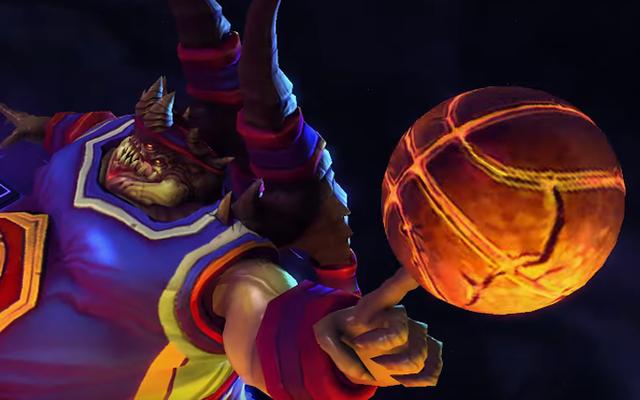 Diablo Boss Azmodan regresa a Heroes of the Storm con pelotas de baloncesto
