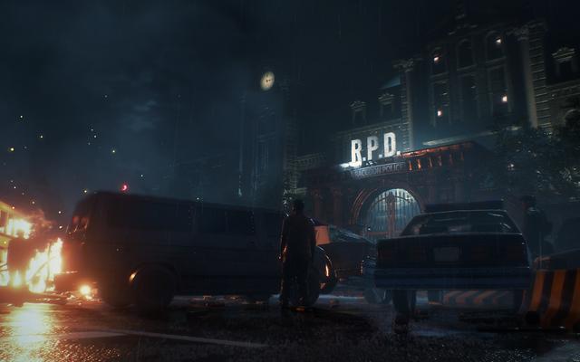 Раккун-Сити почти как другой персонаж в новом фильме Resident Evil