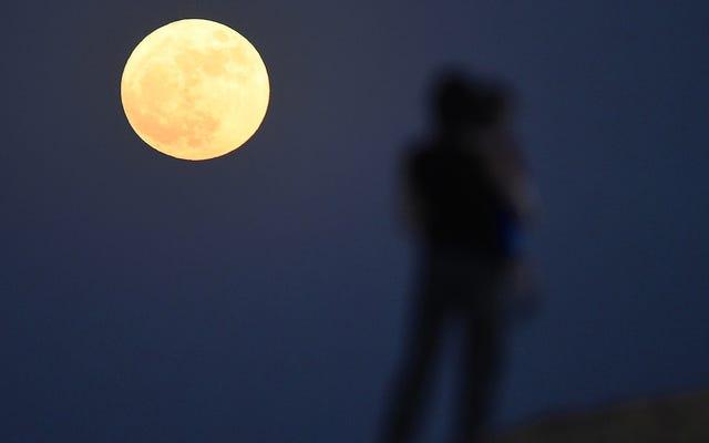 Voir la première supermoon de l'équinoxe de printemps en 19 ans ce soir