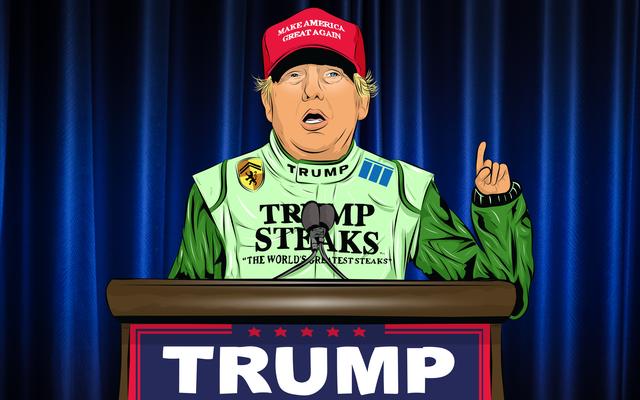 ปัญหา Donald Trump ของ NASCAR