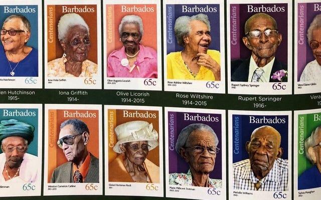 Ở đất nước này, họ tôn vinh bạn với một con tem bưu chính có khuôn mặt của bạn khi bạn tròn 100 tuổi