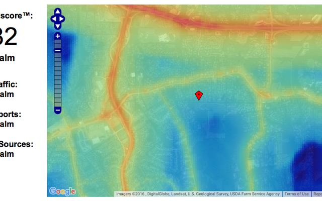 Découvrez le niveau de bruit de votre nouveau quartier avant d'emménager