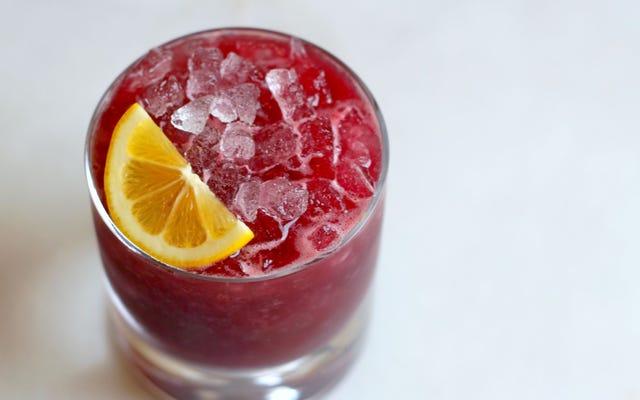 3-संघटक हैप्पी आवर: एक ब्लैकबेरी जैम ब्रंबल
