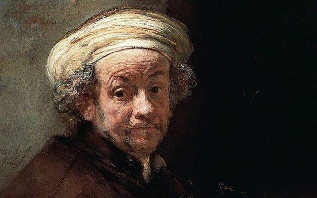 Rembrandt a probablement retracé ses autoportraits avec des miroirs et des lentilles