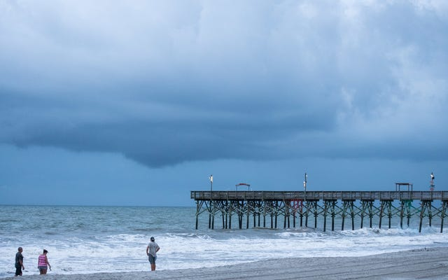 Une quantité effrayante de pluie est sur le point de submerger la côte Est
