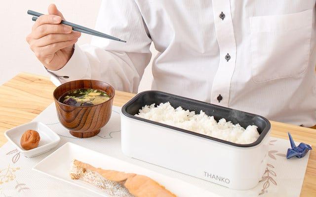 หม้อหุงข้าวกล่องเบนโตะจะช่วยปรับปรุงอาหารกลางวันที่คุณนำมาจากบ้านได้อย่างมาก