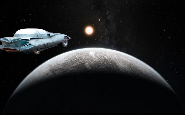オークションに行くこのカスタム1964コルベットは宇宙に行く方がはるかに良く見えるでしょう