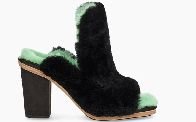 この靴は大丈夫ですか?Ugg x EckhausLattaオープントゥコートミュール