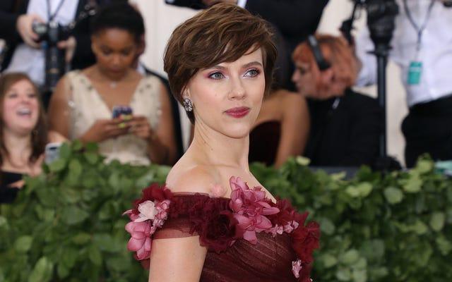 Scarlett Johansson quitte le film où elle aurait joué un homme trans
