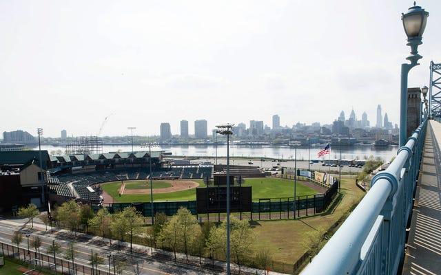Stanno per demolire questo splendido stadio di baseball