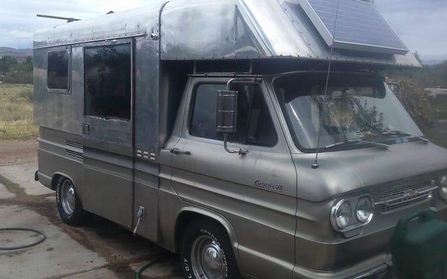 Với 28.000 đô la, Người cắm trại Chevy Corvair năm 1961 này có thể để bạn thoát khỏi tất cả?