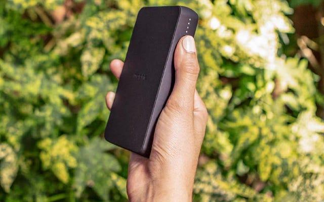 Plus de batteries USB devraient inclure la charge sans fil Qi