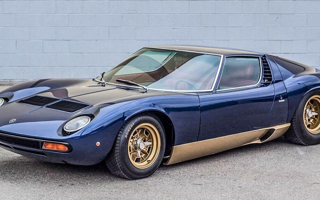 คอลเลคชั่น Lamborghini วินเทจหายากของ Adam Carolla มีขาย