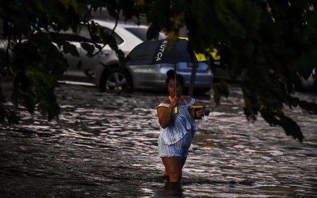 Ce qui était autrefois des événements de pluie sur 100 ans pouvaient se produire tous les 5 ans