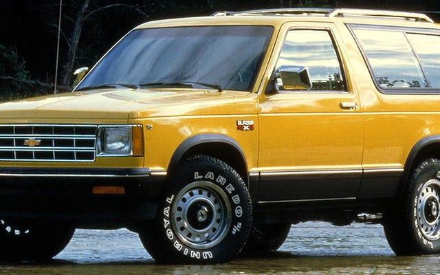 Da leggere: come Chevrolet ha sbagliato il pionieristico S-10 Blazer