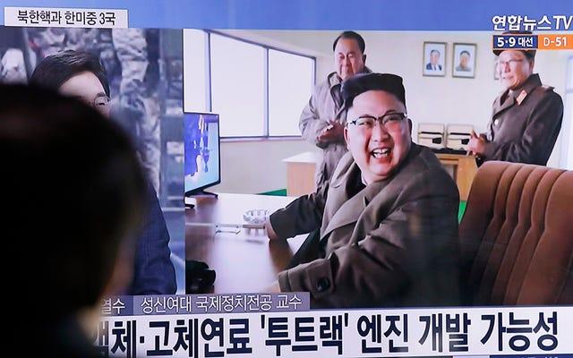 Nordkorea zeigt, dass es nicht bereit für die Primetime ist