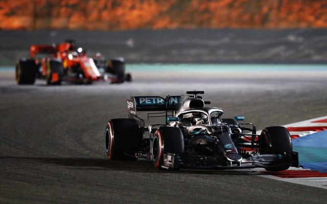 F1は、新しいエアロルールにより、今年の一部のレースでパスが50%増加する可能性があると考えています