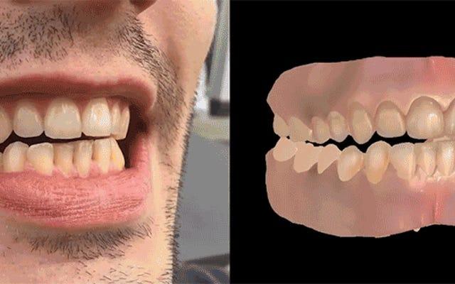 研究者はあなたの歯のビデオだけを使用して完璧なCG義歯を作成できます