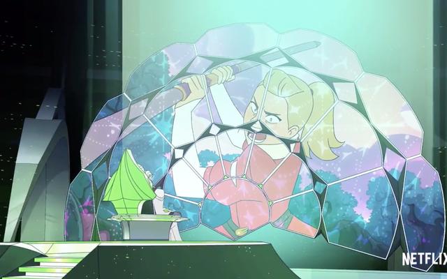 W nowym klipie She-Ra Horde Prime nie może pokonać ducha walki Adory