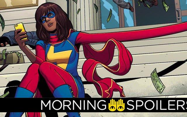 Aggiornamenti da Ms. Marvel, Doctor Strange 2, Moon Knight e altro