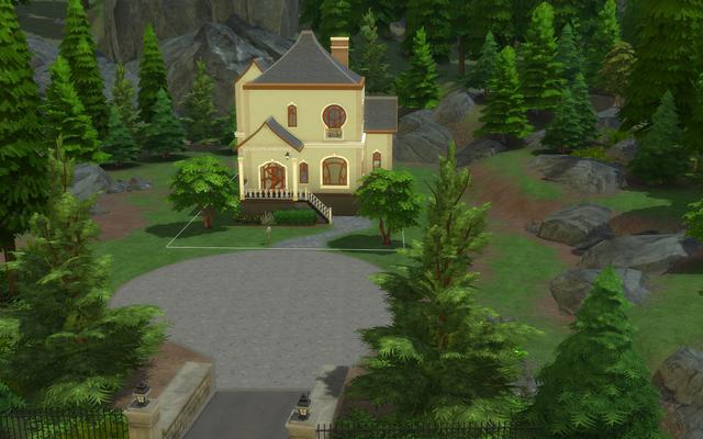 La porta mancante di questa casa di Sims 4 mi sta infastidendo