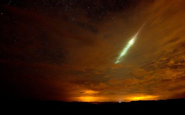 Serez-vous capable de voir la pluie de météores perséides ce week-end?